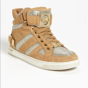Michael Kors FULTON High Top BLING sneakers